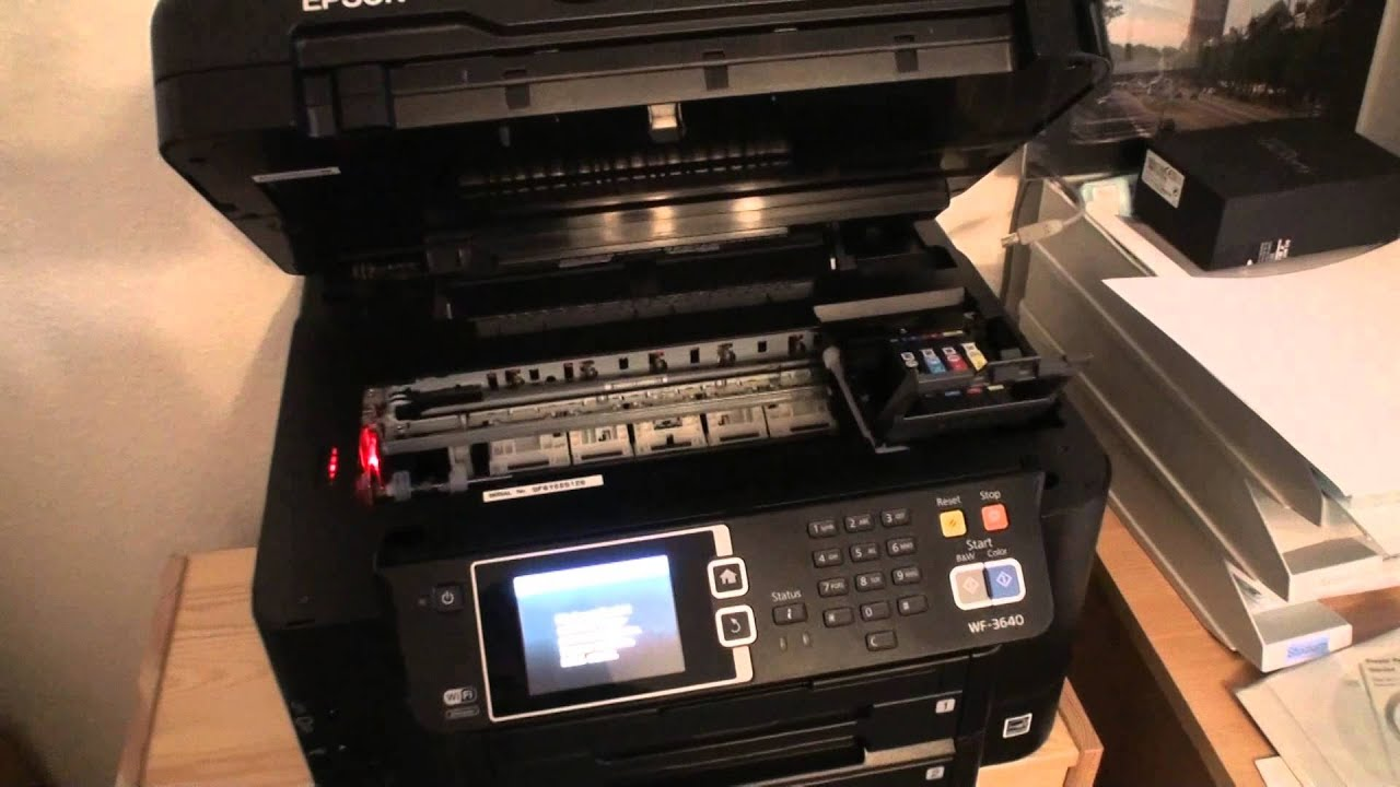 EPSON WorkForce WF-3640 Doesn't Print Anymore