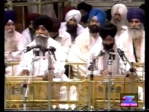 (1)Bhai Surinder Singh ji Jodhpuri, Hazoori Ragi Jatha Darbar Sahib, Amritsar,
