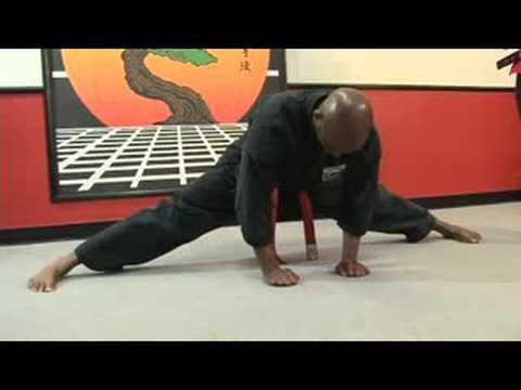 Martial Arts Stretches : Martial Arts Splits Stretches