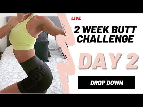 GROW YOUR BOOTY IN 2 WEEKS | DAY 2 | FITNESS CHALLENGE ...