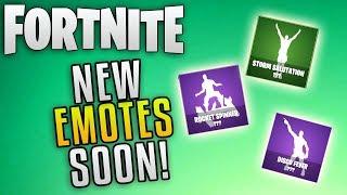 """Fortnite Battle Royale Update 3.4 New Emotes """"Fortnite Battle Royale New Dance Emotes"""""""