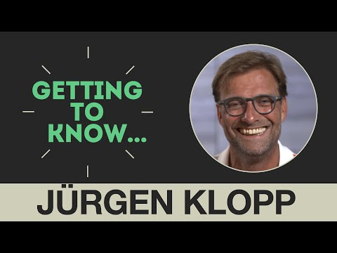 Getting to Know: Jürgen Klopp