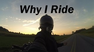 Why I Ride | motovlog | intro channel trailer