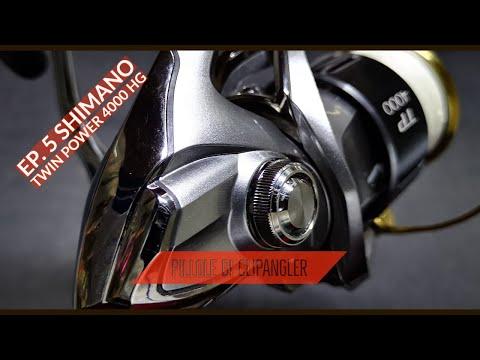 I miei mulinelli da SPINNING - Ep.5 - SHIMANO TWIN POWER 4000 HG JAPAN spinning reel - clipangler