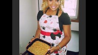 Peanut Butter Blondie Bars- Truvia Baking Star