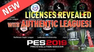 [TTB] PES 2019 - New Official Licenses Announced! - FIFA 19 Champions League Confirmed?!