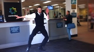 The Dancing Accountant does the Government Center