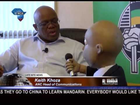 Late Nite  with Loyiso Gola  Chester Missing s Keith Khoza from the ANC