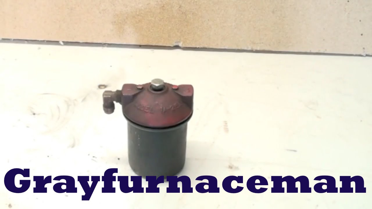 hight resolution of furnace fuel filter