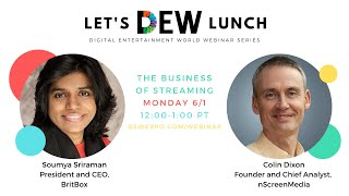 Let's DEW Lunch Webinar with BritBox (June 1, 2020)