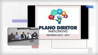 Audiência Pública 08/08/2017 - Plano Diretor Eixo Território