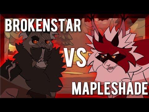 Brokenstar vs Mapleshade. Epic Rap Battles of Warriors #15
