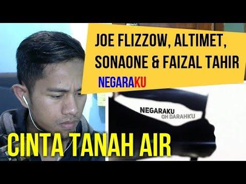 NEGARA KU - JOE FLIZZOW, ALTIMET, SONAONE & FAIZAL TAHIR   MV REACTION #46