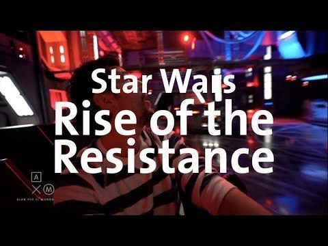 Star Wars Rise of the Resistance 4k ¡LA NUEVA ATRACCIÓN EN DISNEY!