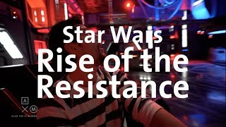Star Wars Rise of the Resistance 4k ¡LA NUEVA ATRACCIÓN EN DISNEY!
