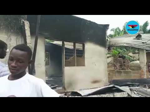 Abura Dunkwa youth attack Malians over killing of security guard