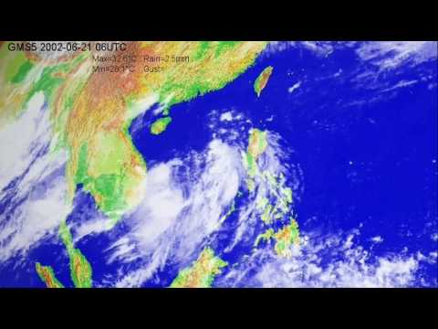 The 2002 typhoon season over the South China Sea