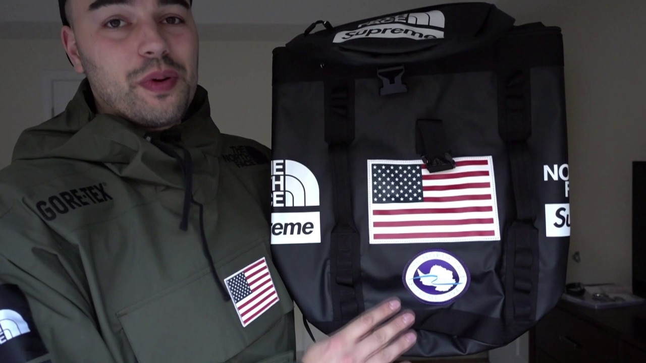 b97c3ad71ac7 Supreme App or Website  Two Manual North Face Pickups! - YouTube
