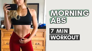 Morning Abs Workout Before Breakfast  7 Min