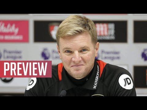 Press conference: Eddie Howe speaks to the media ahead of Swansea