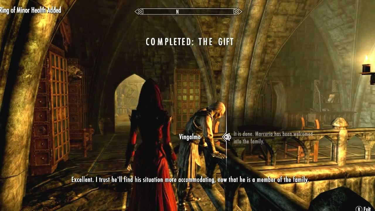 Skyrim Dawnguard Turning Spouse Into A Vampire The Gift
