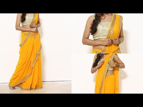 Completely New Saree Wearing Video 2018