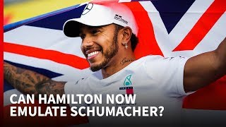 Why Schumacher's records are now in reach for Hamilton