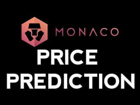 2018 Monaco (MCO) Crypto Currency Price Prediction