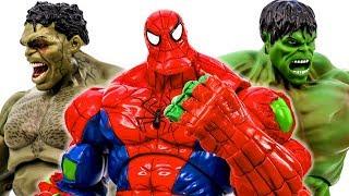Марвел Супер Герой Халк Павук, Халк, Халк Гігантський Іграшка Битва - Toysplaytime