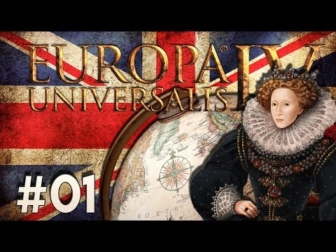 EUROPA UNIVERSALIS 4 Lets Play ★ #01 God save the Queen | Jubiläums-Staffel 10