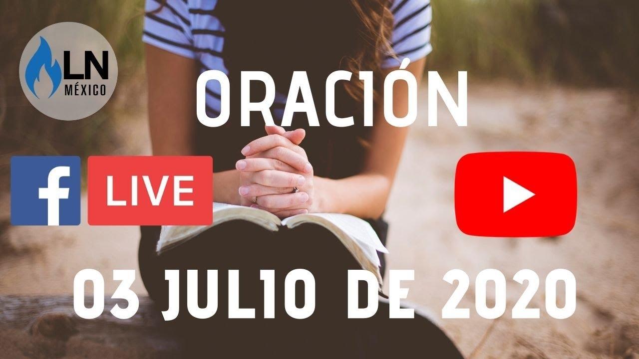 🔴 EN VIVO · 🏠 ORACIÓN ONLINE  #IglesiaEnCasa-  03 de Julio 2020 //Pastor Oscar López