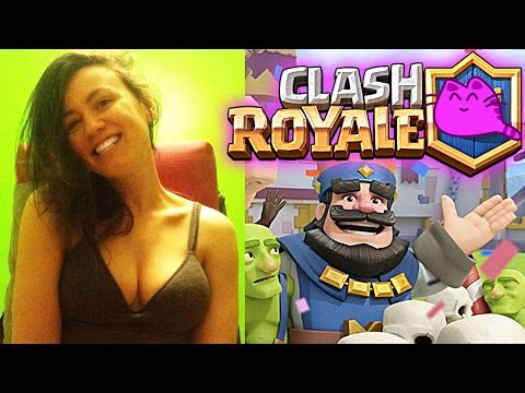 Clash Royale SEXY STREAM arena 4 ❤ RussyGame