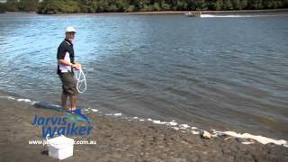 How to - Use a cast net
