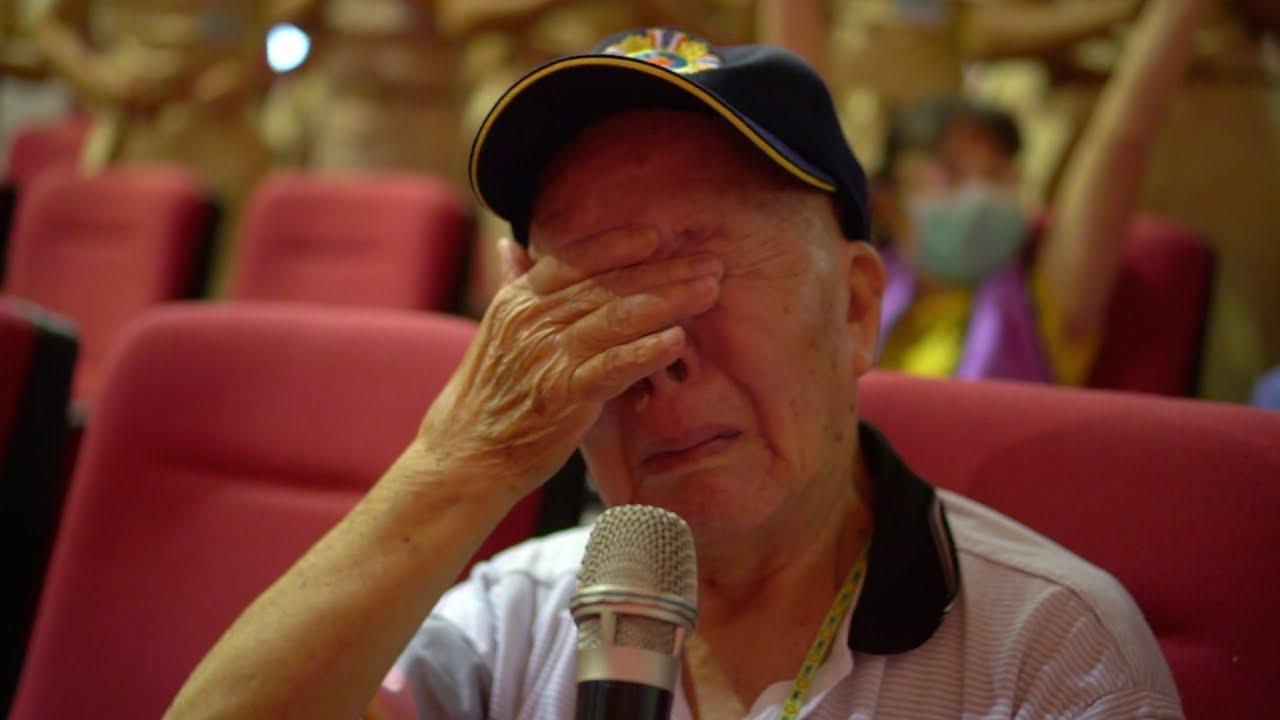 榮民伯伯流淚高歌「中華民國頌」