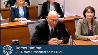 CNSC staff presented an overview of the 6th Review Meeting of the Joint Convention