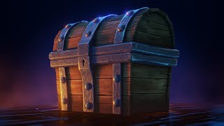 Blender 2.8 Beginner Course - Modeling, Texturing and Shading a Treasure Chest - Course Trailer