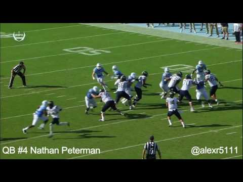 Nathan Peterman vs. North Carolina (2016)