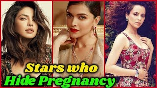 10 Bollywood Actresses who Hide Their pregnancy