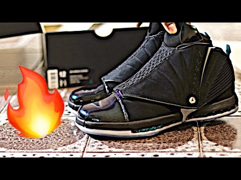 Nike AIR JORDAN 16 XVI RETRO CEO 'BOARDROOM' Sneaker Unboxing, Preview and On-Foot Review