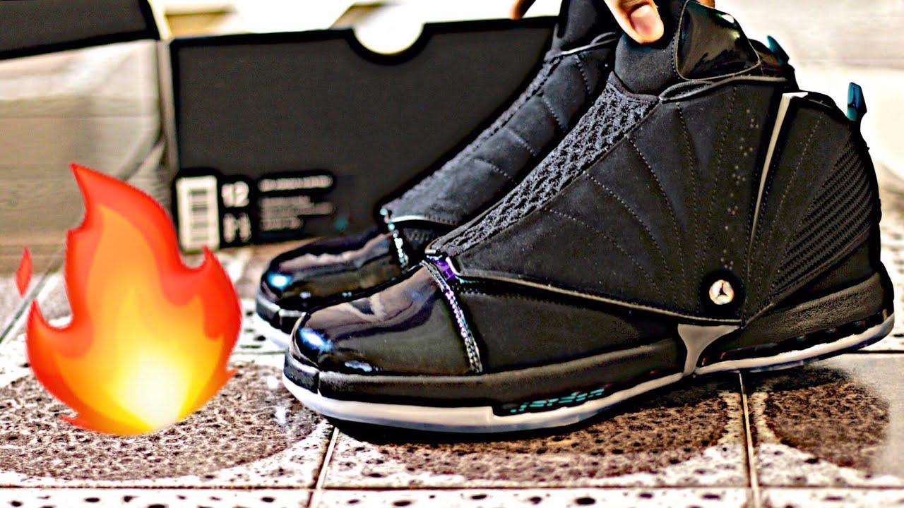be930cf2add2 Nike AIR JORDAN 16 XVI RETRO CEO  BOARDROOM  Sneaker Unboxing ...