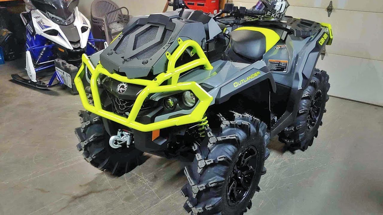 Can Am Outlander 1000 Xmr >> Picking Up The New Can Am 2020 Outlander Xmr