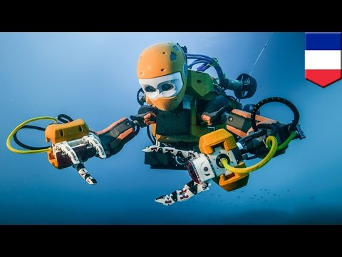 Humanoid diving robot OceanOne finds lost sunken treasure on ancient French shipwreck - TomoNews