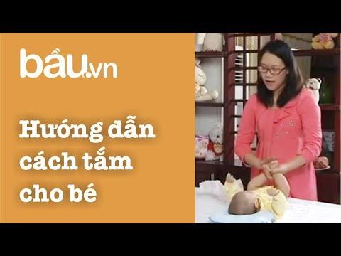 Tạp Chí Bầu - Hướng dẫn thay tã cho bé