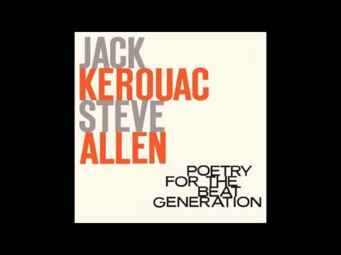 Jack Kerouac & Steve Allen ~ Poetry For The Beat Generation (LP, 1959)