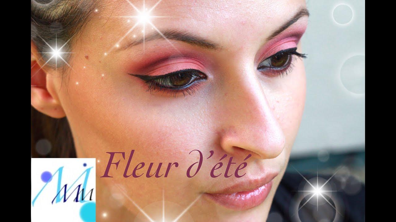 maquillage color fleur dt - Colori Maquillage