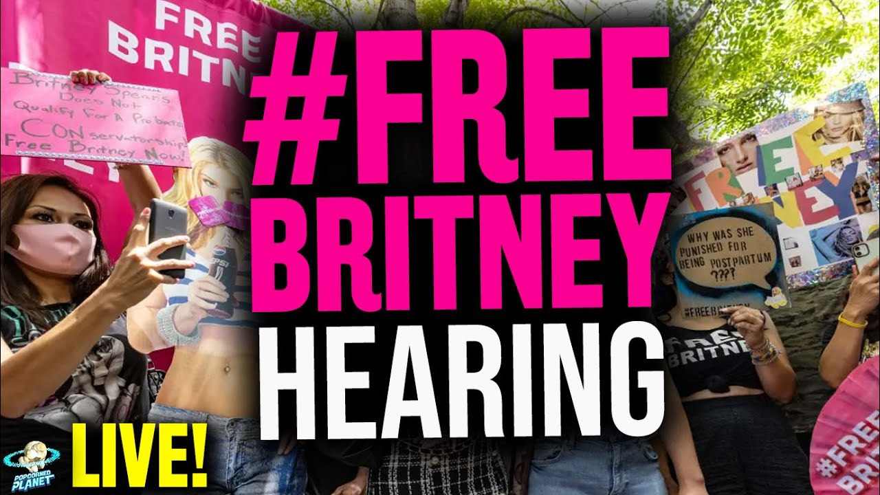 Download Britney Spears Hearing  & Free Britney Rally LIVE from Beverly Hills, CA