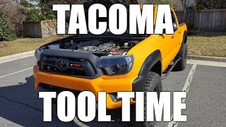 Tacoma Tool Time: Fun Gadget To Help When Working On Your Truck