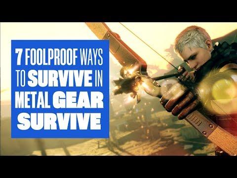 7 foolproof way to survive in Metal Gear Survive - Metal Gear Survive gameplay