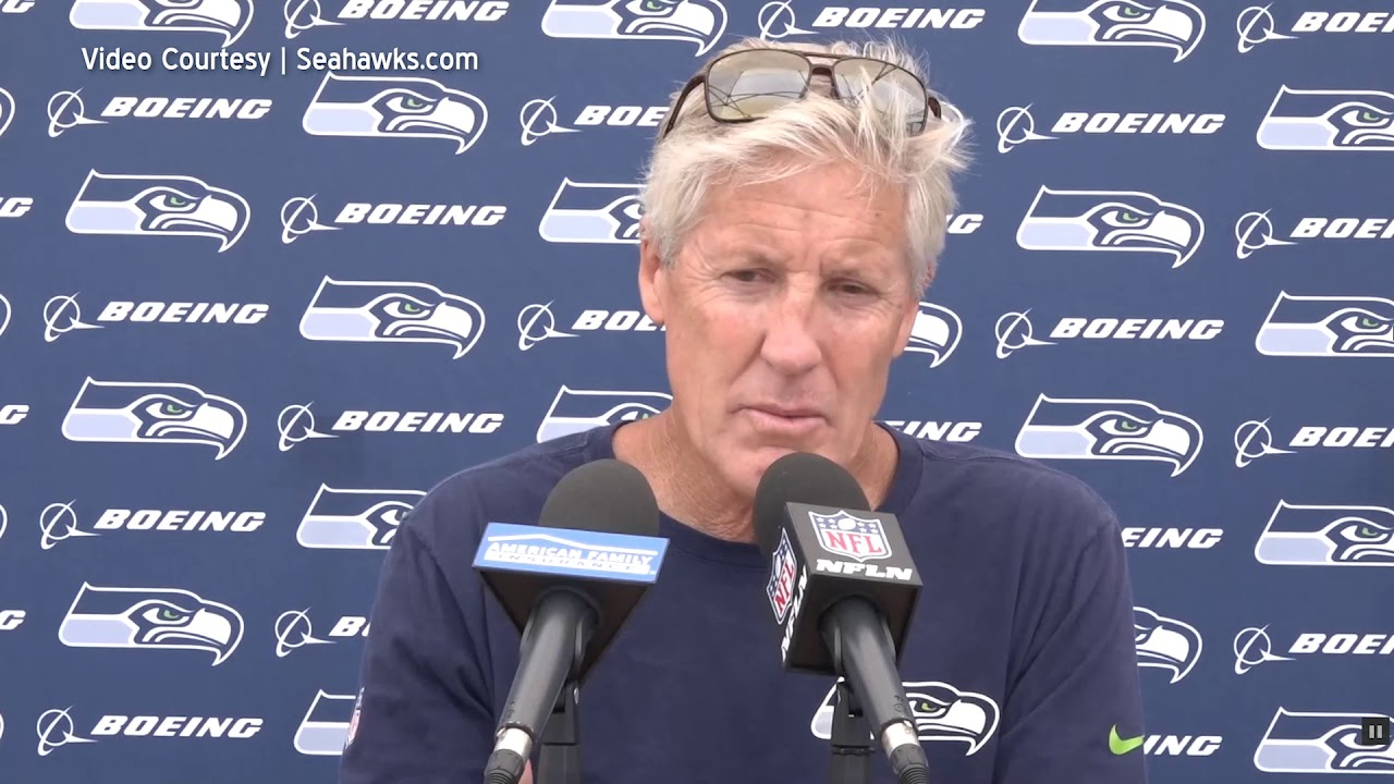Pete Carroll on Roster Opportunities 2019-08-27