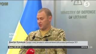Дмитро Кузнецов щодо стану речового забезпечення військовослужбовців ЗСУ